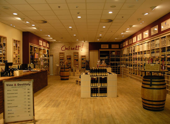 Víno & Destiláty – vinotéka