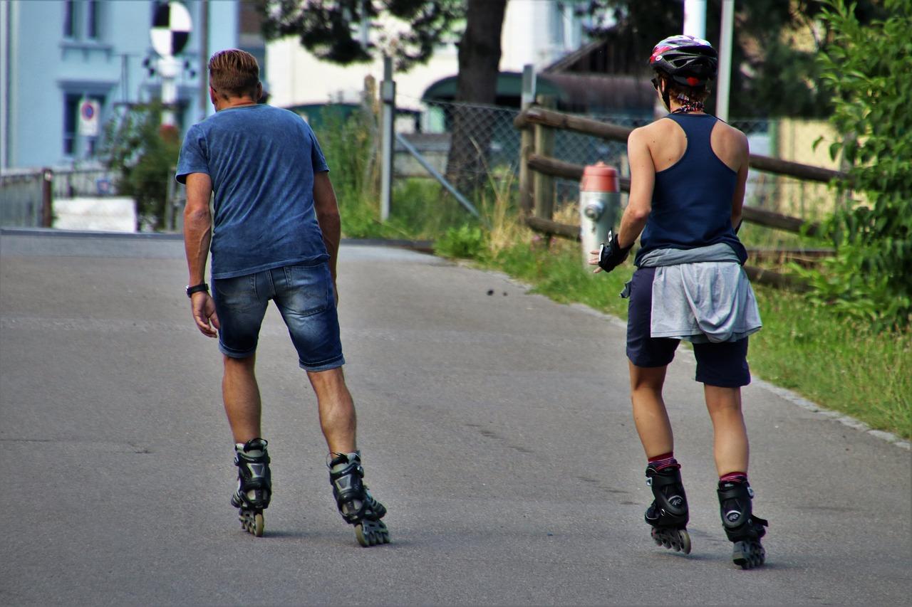 kolečkové brusle, inline hokej, kolečka na brusle