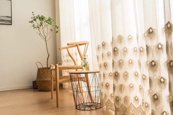 Záclony, závěsy, bytový textil, povlečení